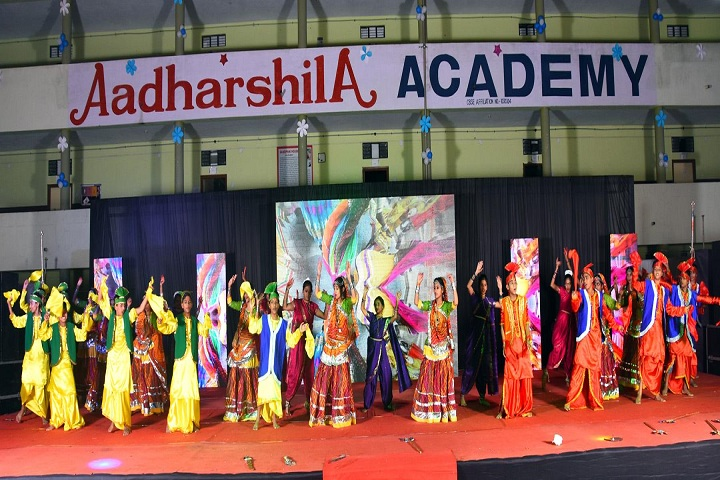 Aadharshila Academy-Dance Competition