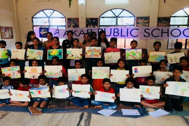 Aakar Public School-Art
