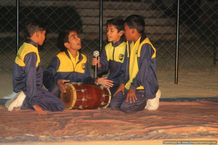 Aakar Public School-Music Activity