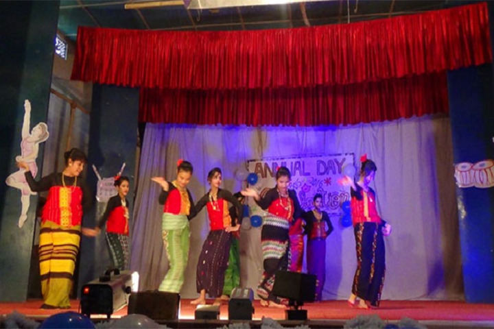 The Little Stars Senior Secondary School- Dance Competition