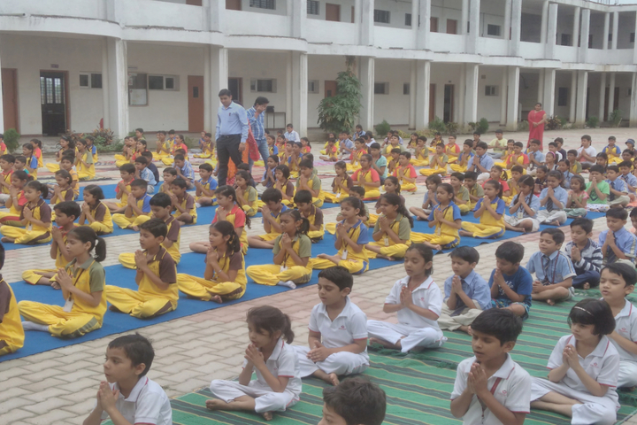 Academic Heights Public School-Yoga Day