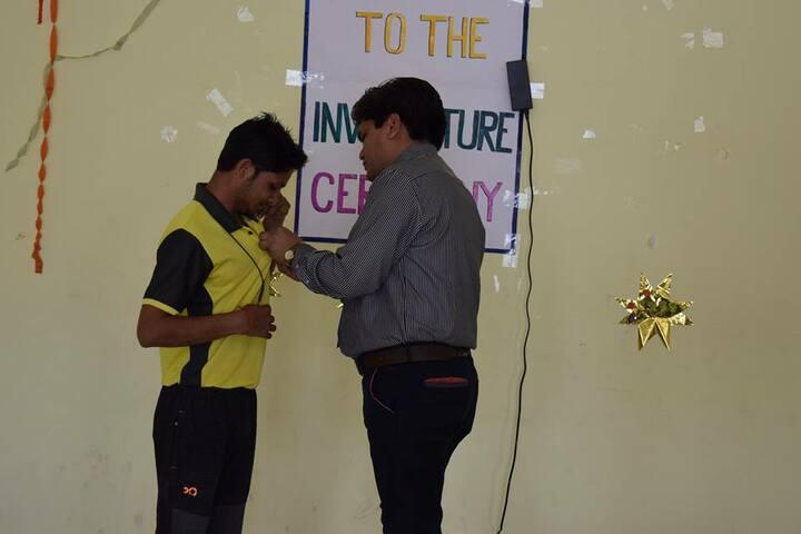 Acharya Vidyasagar Public School-Investiture Ceremony