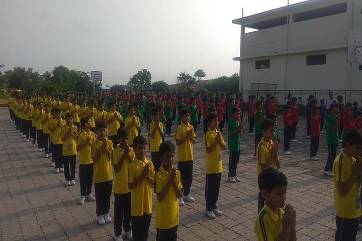 Acharya Vidyasagar Public School-Morning Assembly