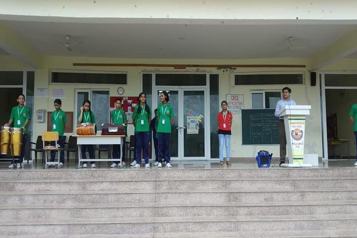 Acharya Vidyasagar Public School-Music Activity