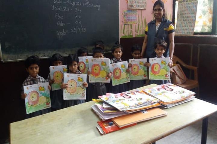 Aditya Convent School-Classroom Activity