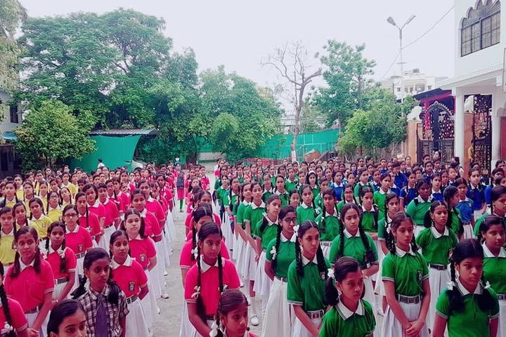 Aditya Convent School-Morning Assembly