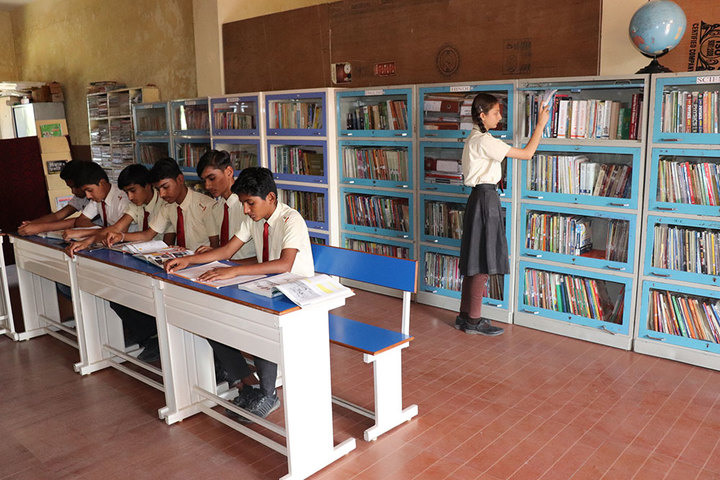 Advanced Kids Academy-Library