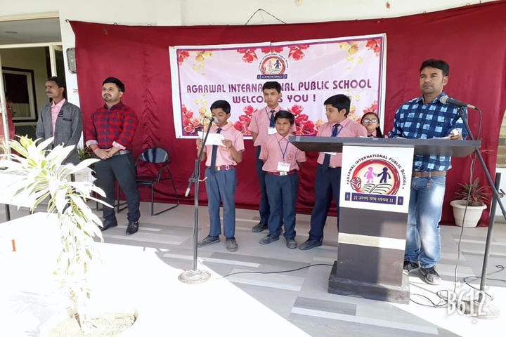 Agarwal International Public School-Music Activity