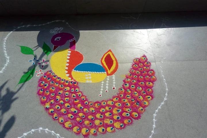 Agarwal International Public School-Rangoli Competition