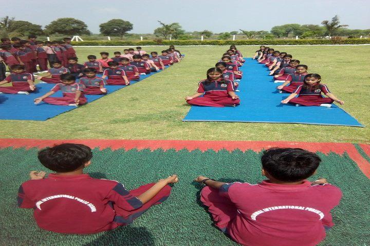 Agarwal International Public School-Yoga Day