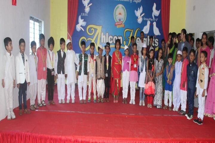 Ahps Sagar Ahlcon Heights Public School-Fancy Dress