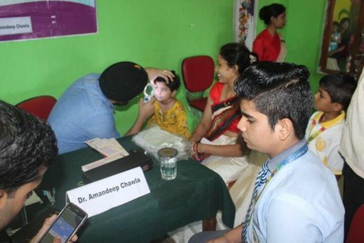 Ahps Sagar Ahlcon Heights Public School-Health Checkup