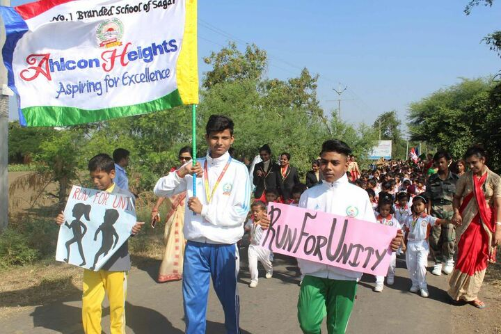 Ahps Sagar Ahlcon Heights Public School-Rally