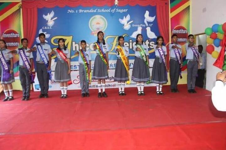 Ahps Sagar Ahlcon Heights Public School-Investiture Ceremony
