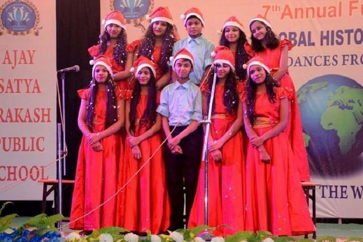 Ajay Satya Prakash Public School-Chritmas Celebrations