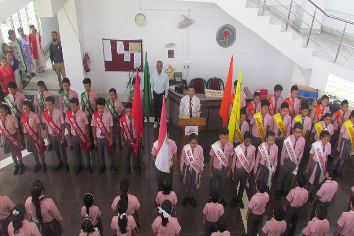 The Reality Public School- Investiture Ceremony