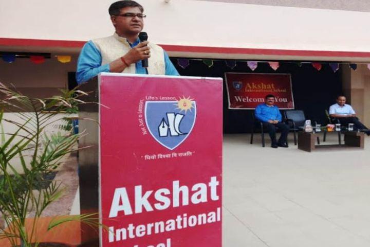 Akshat International School-Speech