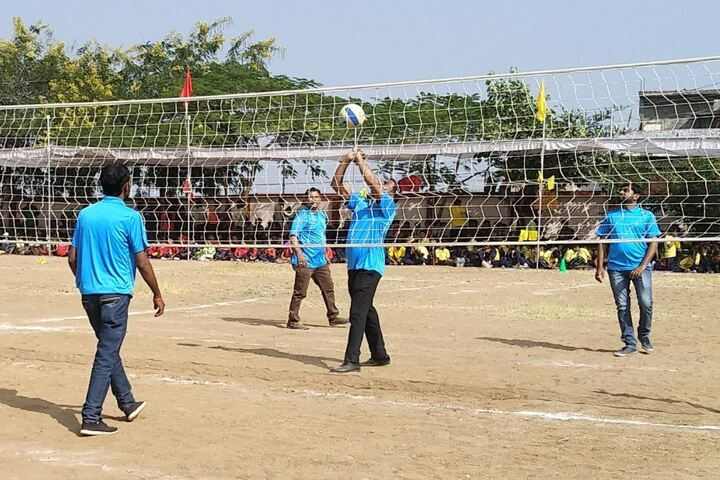 Akshay Academy-Volley Ball