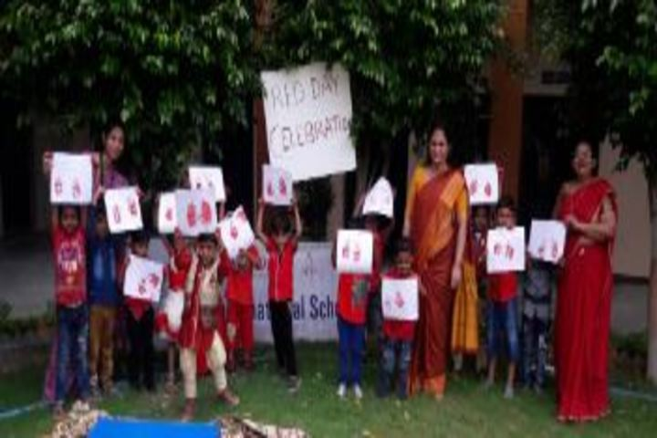 Alok International School-Red Day Celebrations