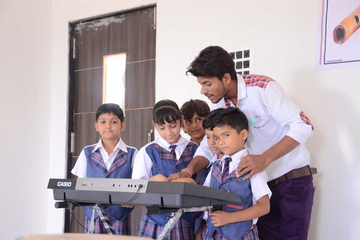 Alpha International School-Music Activity