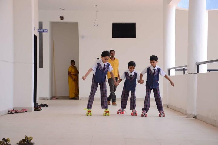 Alpha International School-Skating Activity