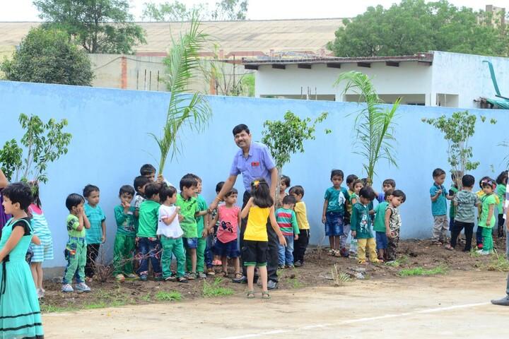 Alpha International School-Tree Plantation