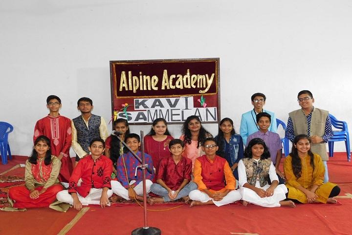 Alpine Academy-Kavi Sammelan