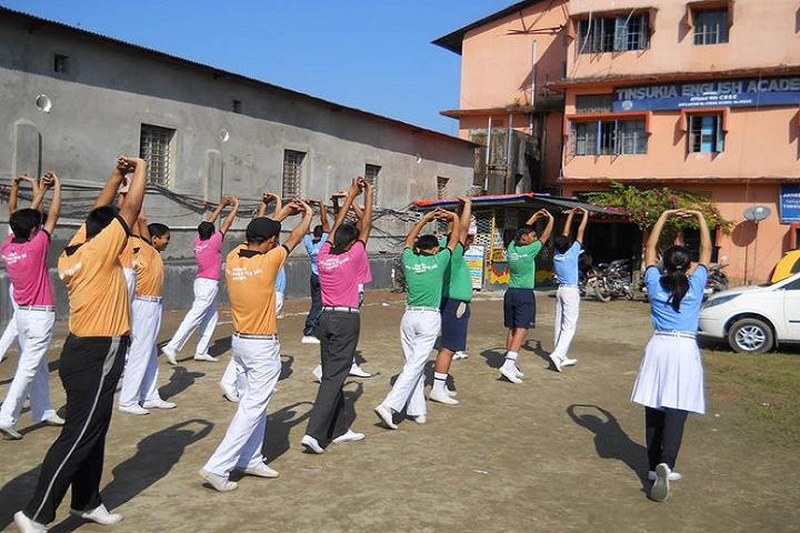 Tinsukia English Academy- Yoga