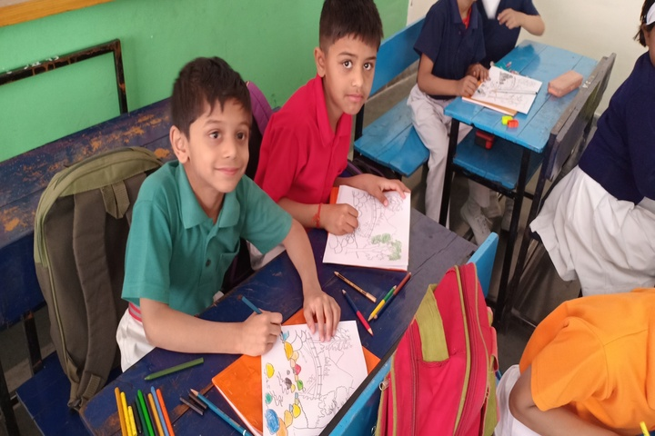Army Public School-Drawing Competition