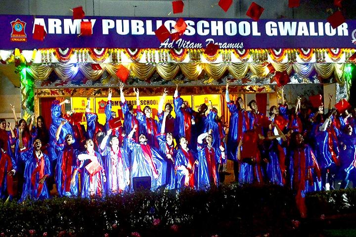 Army Public School Gwalior-Graduation Ceremony