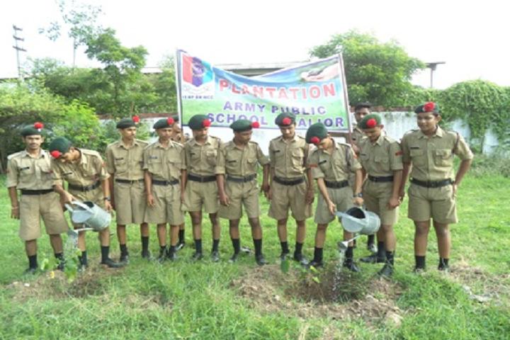 Army Public School Gwalior-Tree Plantation