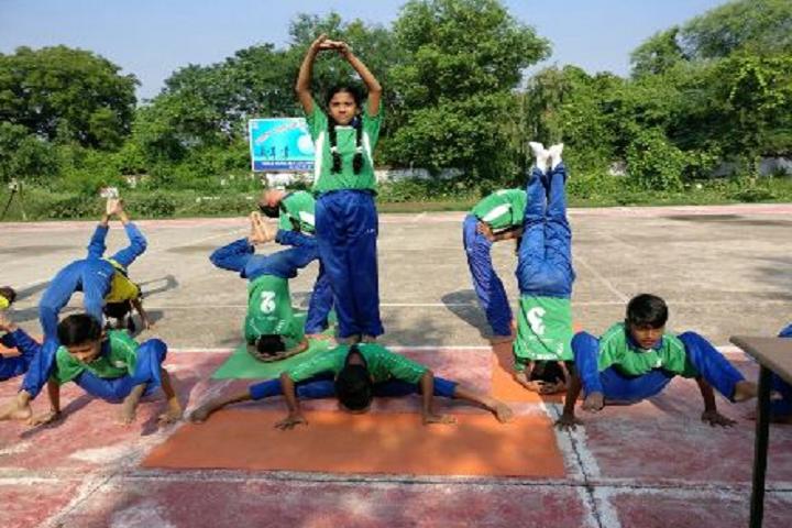 Army Public School Gwalior-Yoga