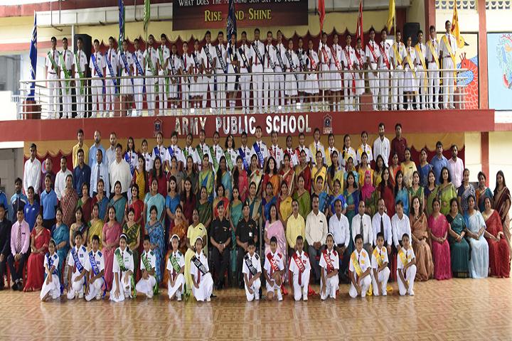 Army Public School Shivaji Nagar-Group Photo