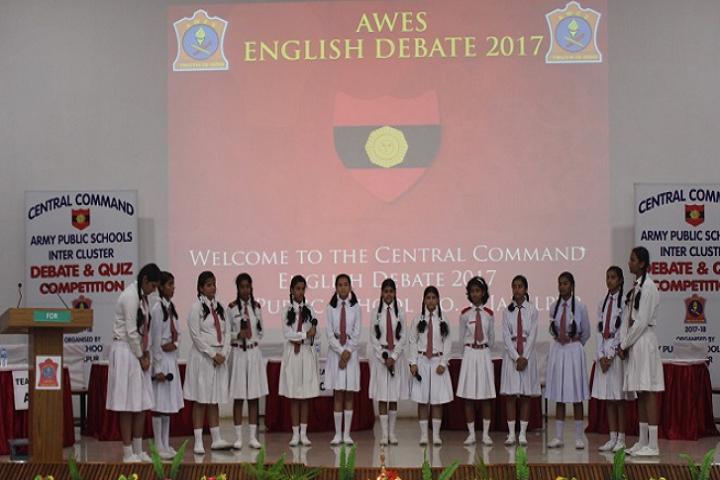 Army Public School No1-Debate