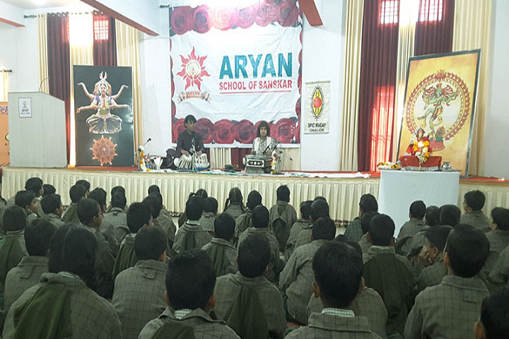 Aryan School Of Sanskar-Auditorium