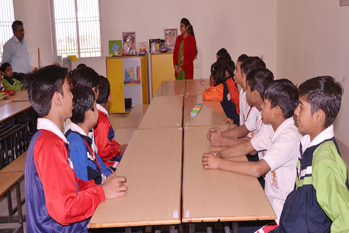 Aryan School Of Sanskar-Language Lab