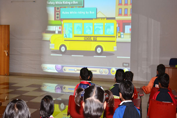 Aryan School Of Sanskar-Smart Classroom