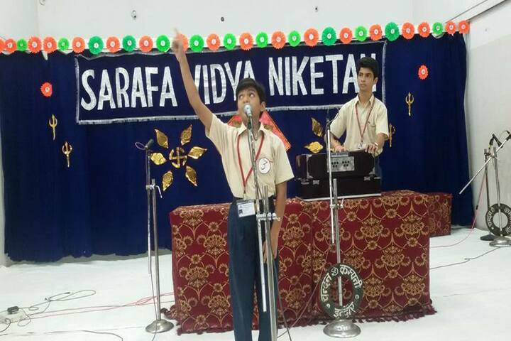 Asashas Sarafa Vidya Niketan Higher Secondary School-Music Activity