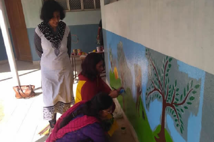 Atomic Energy Central School-Painting Activity