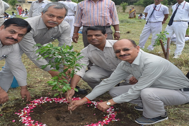 B H E L Vikram Higher Secondary School-Tree Plantation