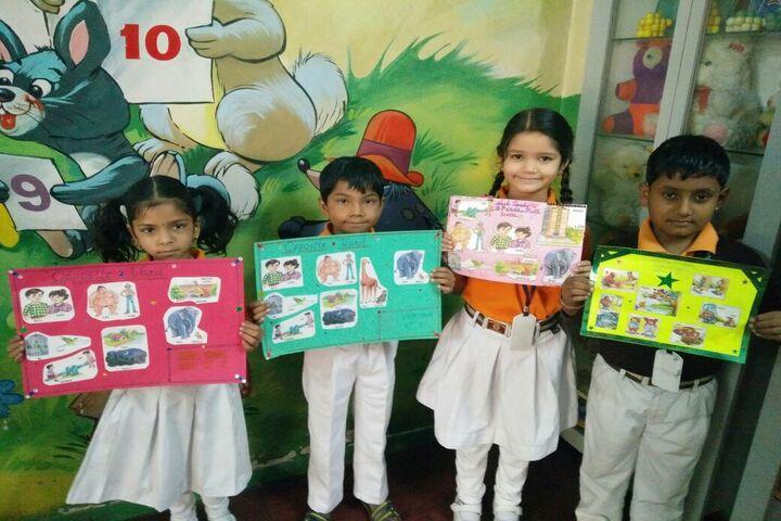 B.P.Children Public School-Chart Making Activity
