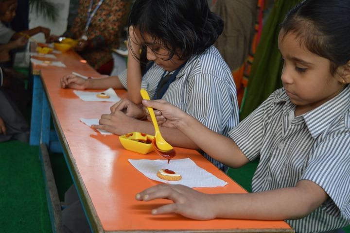 B.P.Children Public School-Classroom Activity