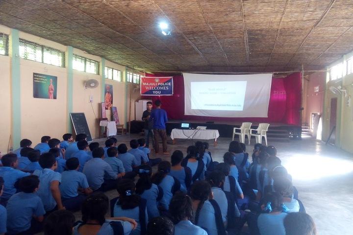 Vivekanand Kendra Vidyalaya- Cyber Crime Awareness
