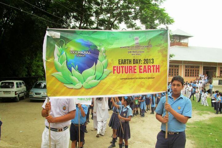 Vivekanand Kendra Vidyalaya- Earth Day