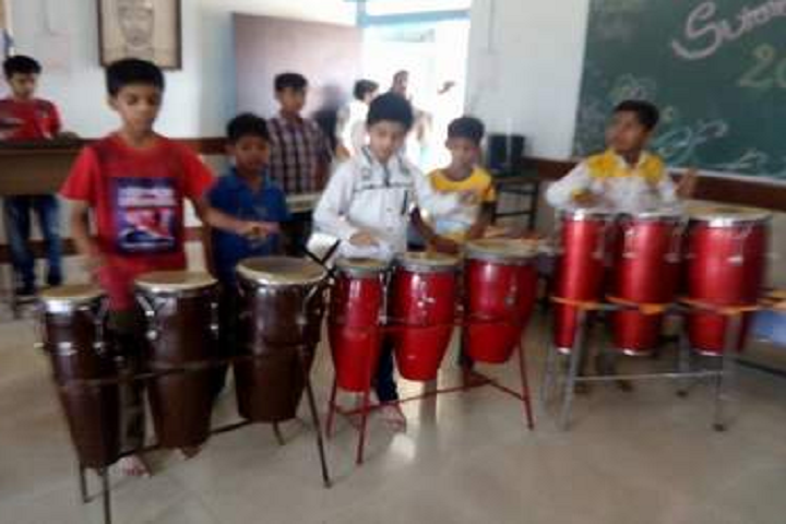 Bal Bharati Public School -Music Room