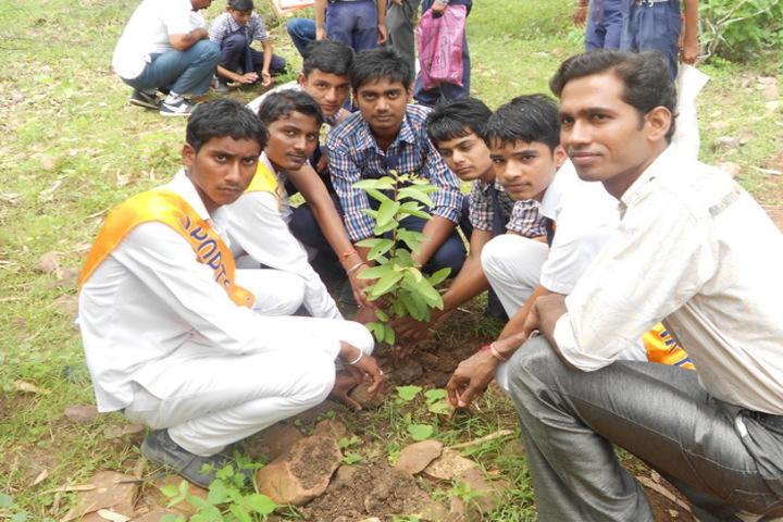 Bhanpura Public School-Tree Plantation