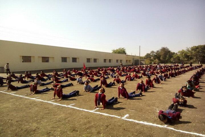 Bhanpura Public School-Yoga