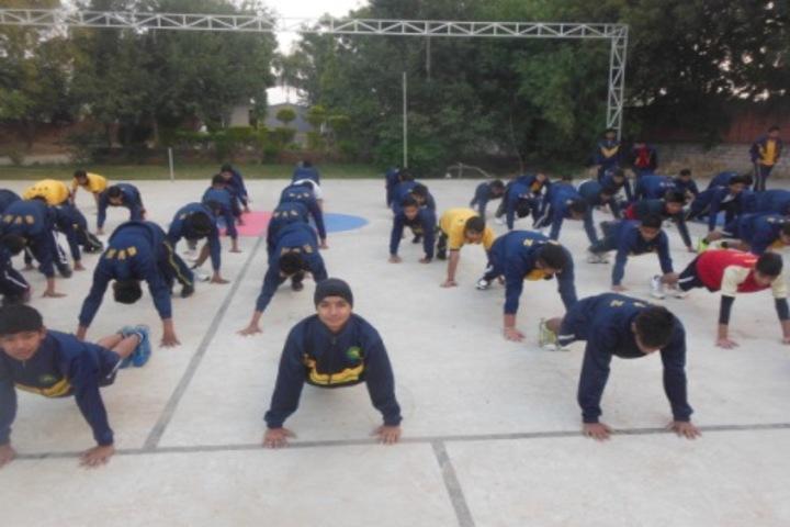 Bhartiyam Vidya Niketan-Yoga