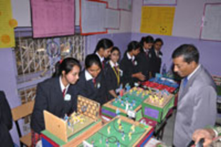 Bhopal Girls School-Exhibition