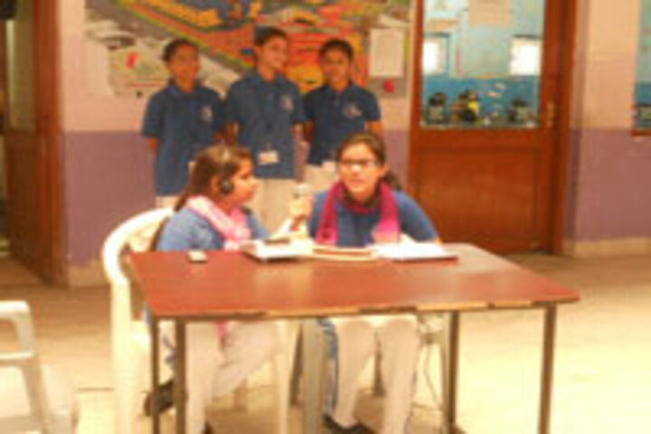 Bhopal Girls School-Radio Jockey